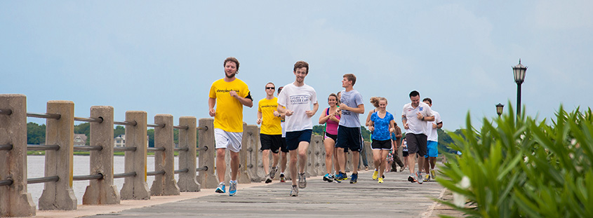 Charleston Steeplechase Running Tour
