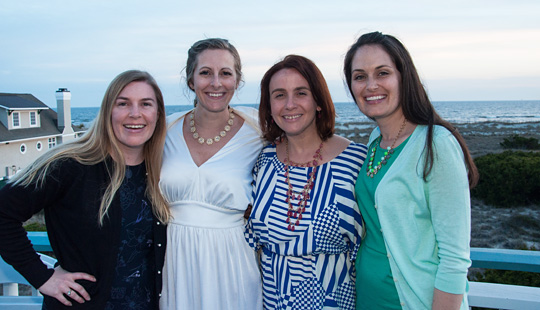 Friends on Bald Head Island