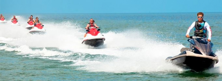 Go exploring on the water with Tidal Wave Water Sports.