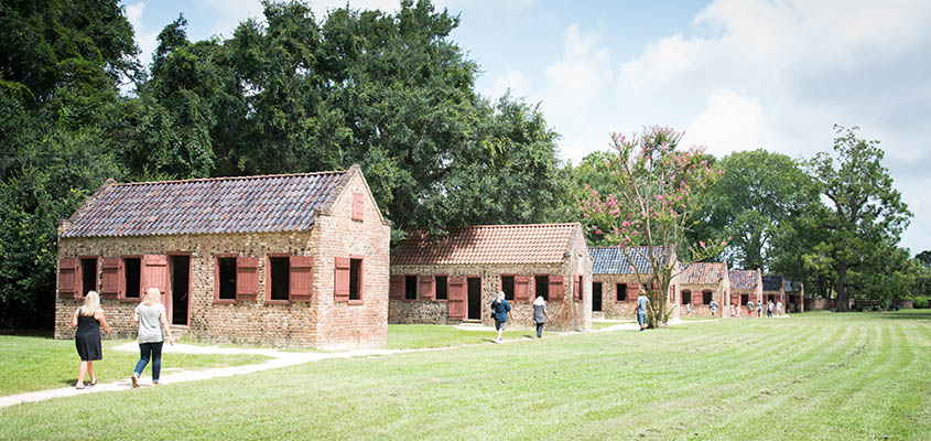 Slave Cabins at Boone Hall Plantation. © 2017 Audra L. Gibson. All Rights Reserved.
