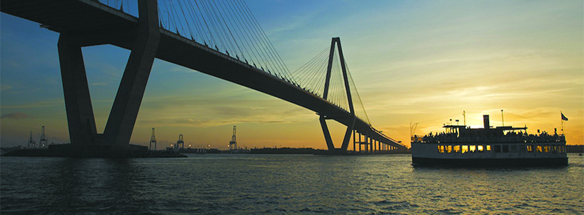 Book a Charleston Harbor Tour. Image provided by Charleston Harbor Tours. All Rights Reserved.