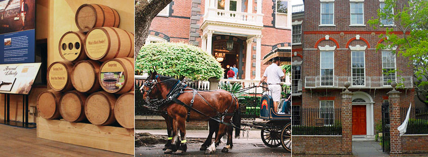 Book a carriage tour, Powder Magazine tour and Charleston house museum tour in one.