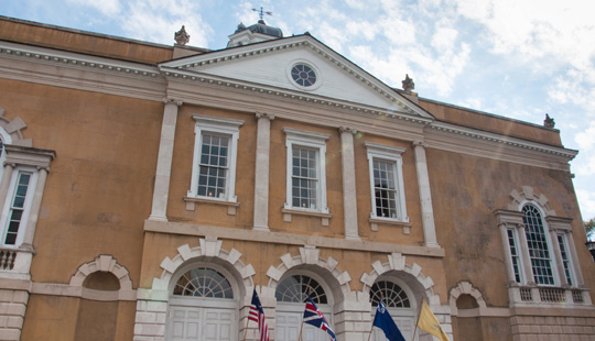Old Exchange Building and Customs House, Charleston SC