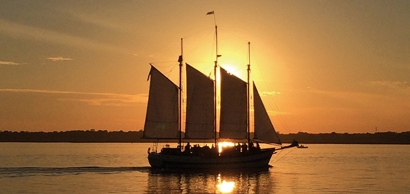 Schooner Pride Sunset Sail 845x400 Web