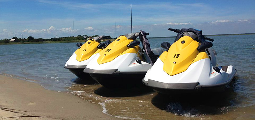 Charleston Waverunner Rental. Image courtesy of Tidal Wave Water Sports. All Rights Reserved.
