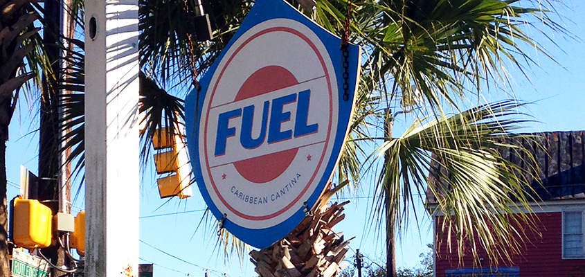 Fuel Cantina Sign Charleston SC. © 2017 Tonya Mulqueen
