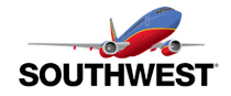 Southwest Airlines, servicing Charleston International airport.