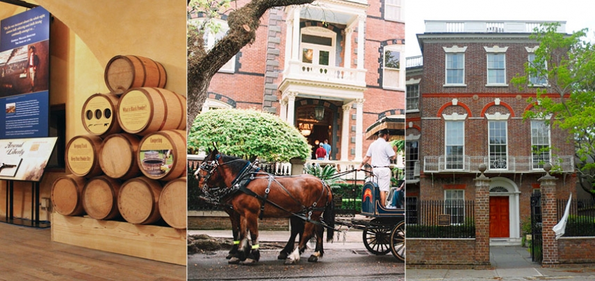 Powder Magazine, Carriage Tour, and Historic House Museum
