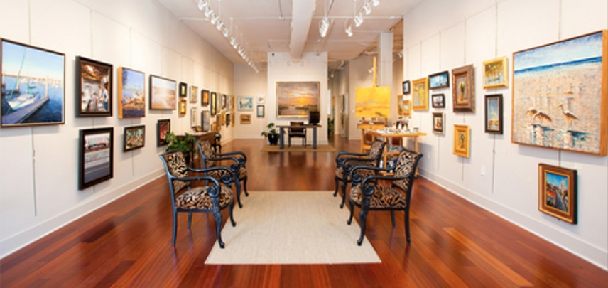 Charleston's Galleries are ready to greet you.